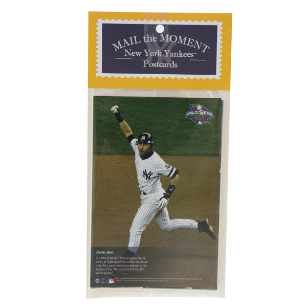 Mail The Moment 10 Pk New York Yankees Postcard Set