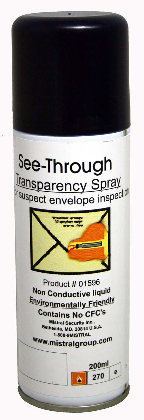 See - Thru Transparency Envelope Inspection Spray