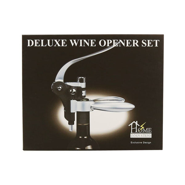 Home Innovations Deluxe Wine Opener Set