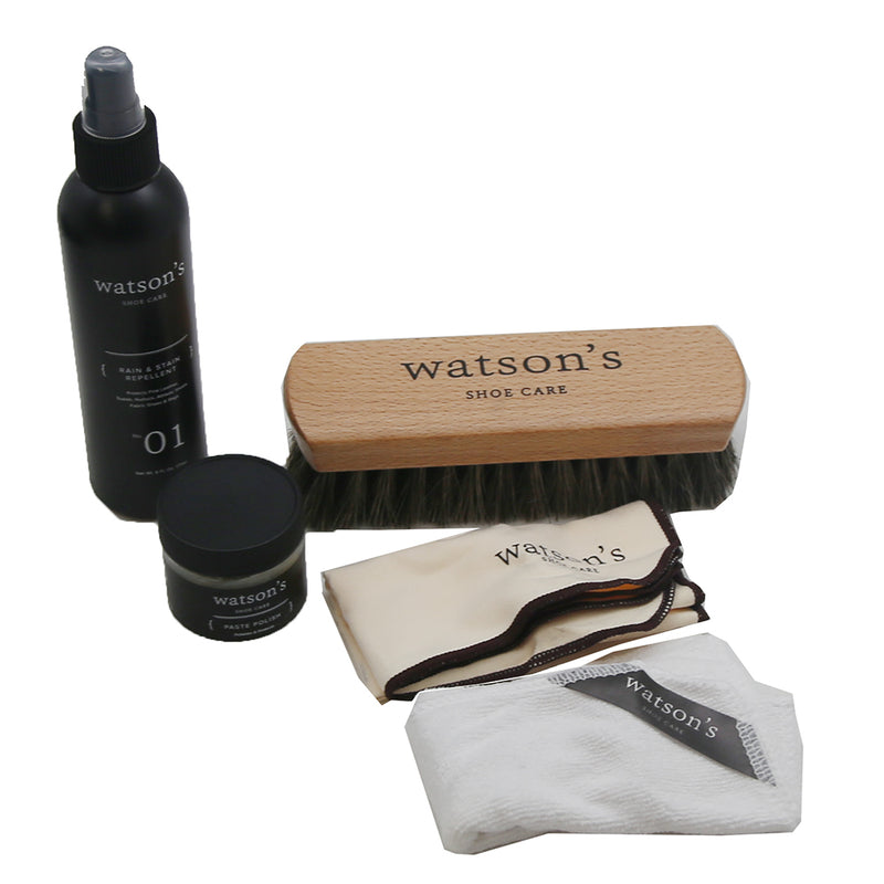 Deluxe Shoe Care Kit