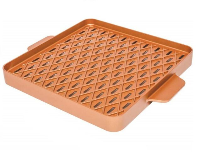 "Copper Chef X-Design BBQ Pan 12""X12"" - Mail Order"