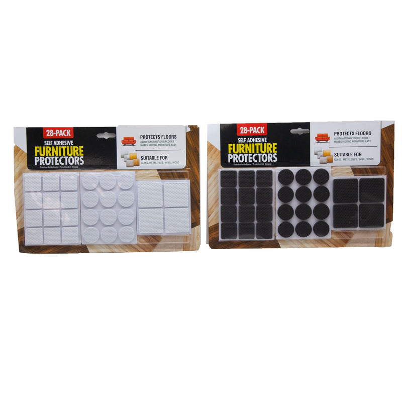 Self Adhesive Furniture Protectors 28 Pack
