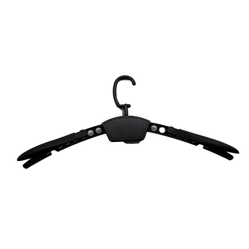 Black Flex Hanger Set 10 Per Unit