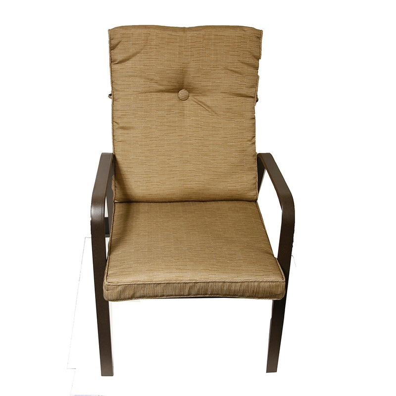 Lawson Ridge Patio Chair- Sold And Priced By Pc - Contains 4 Chairs Tan  ( Box 1 Of 2 )