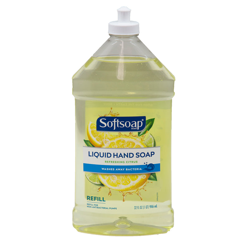 Softsoap Liquid Hand Soap Refreshing Citrus Refill 32 fl oz