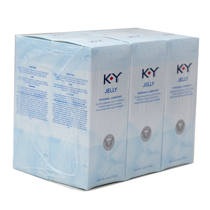 K-Y Jelly Personal Lubricant 4 oz Exp-11-2018