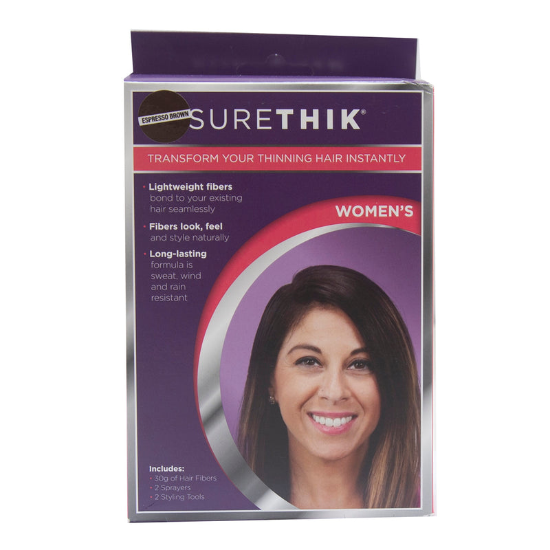 SureThik Women's Transform Your Thinning Hair Instantly - Espresso Brown