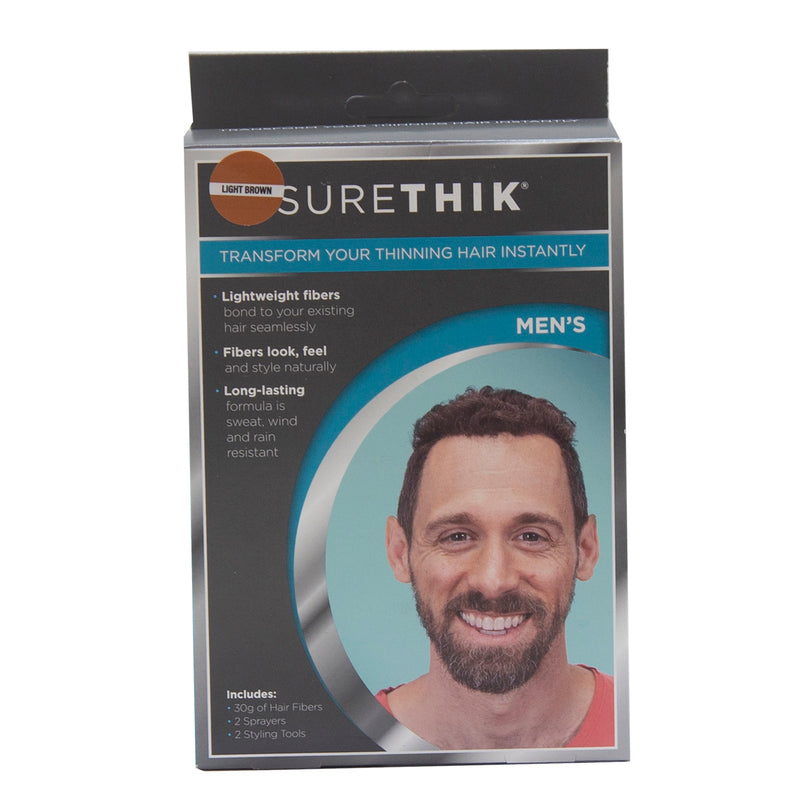 SureThik Men's Transform Your Thinning Hair Instantly - Light Brown