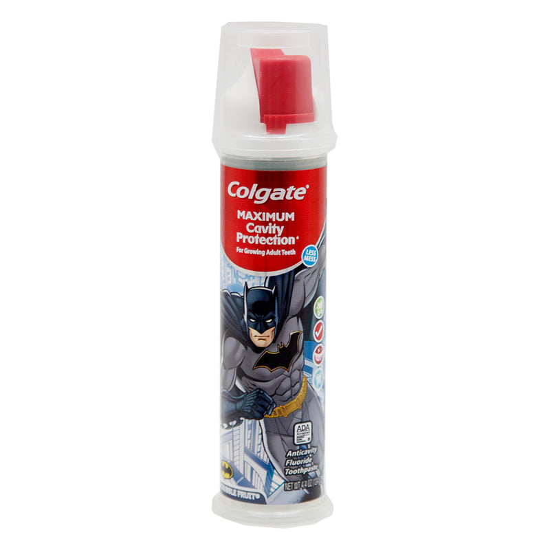 Colgate Kid's Toothpaste Pump Batman 4.4 oz