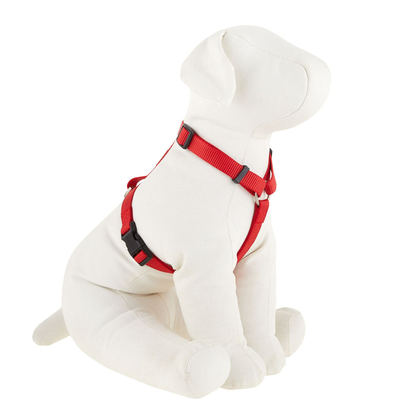 Top Paw Dog Harness Adjustable Red- S