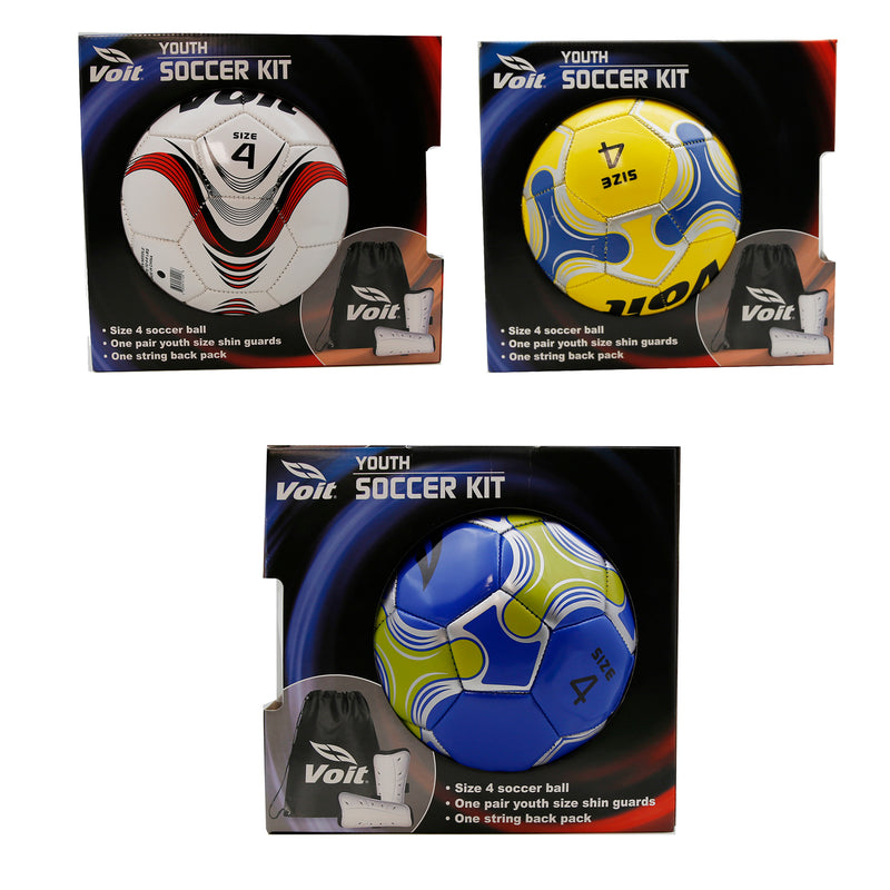 Soccer Kit Ball Shin Guards