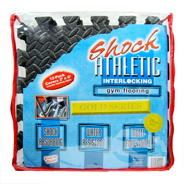 Shock Athletic Gym Flooring Mats