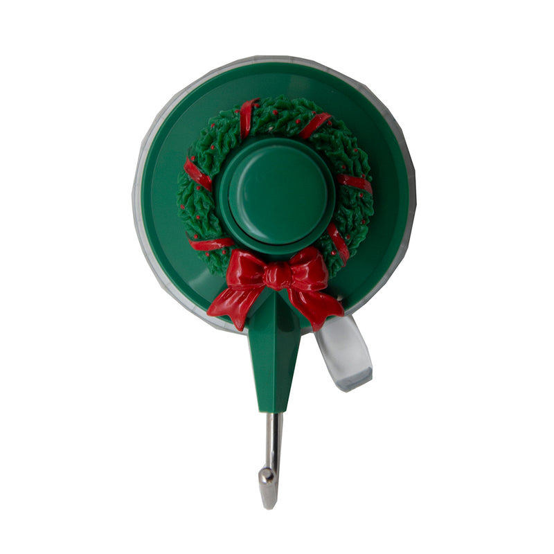 Suction King Holiday Wreath Suction Hook