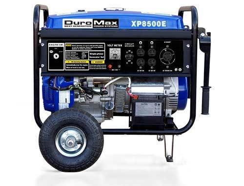 DuroMax XP8500E, 7000 Running Watts/8500 Starting Watts, Gas Powered Portable Generator