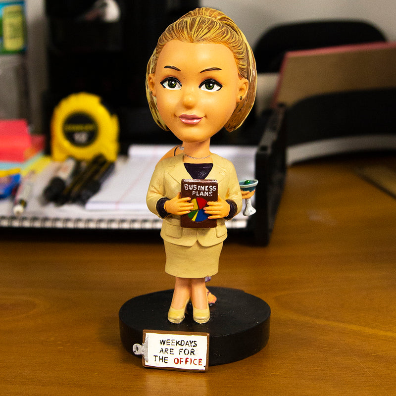 Sin City Lady Bobble Head