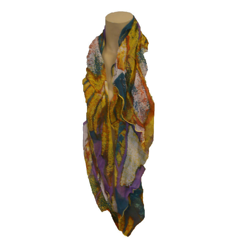 Cejon Splash Of Color Kite Scarf - Light Weight- Assorted Styles & Color