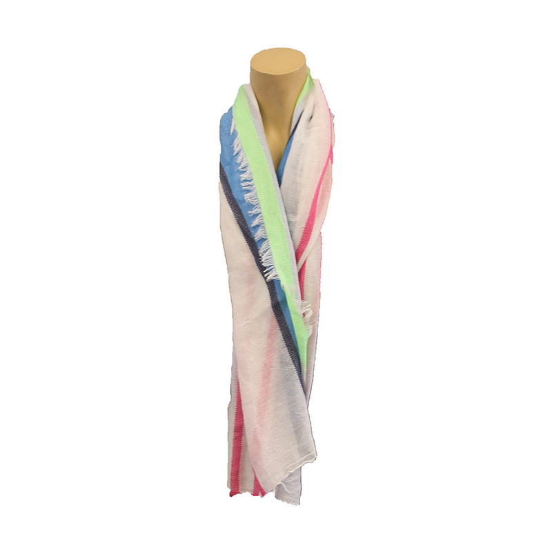 Assorted Styles + Color Light Weight Scarfs