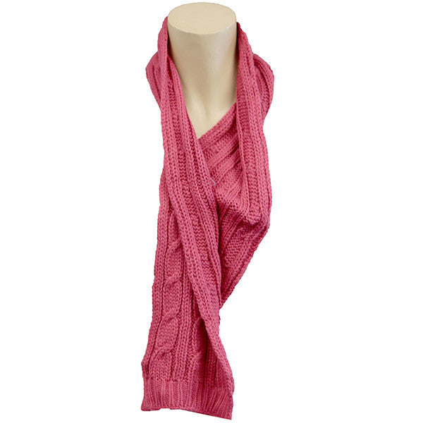 Girls Assorted Mufflers Scarves worn around the neck and face for warmth