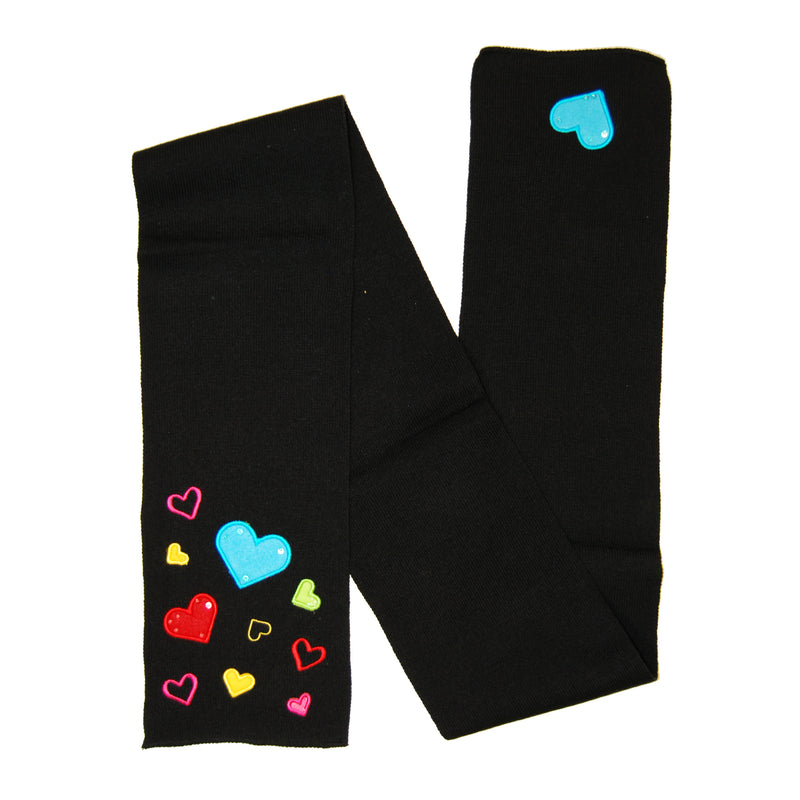 Youth Scarves w/Hearts (Assorted)