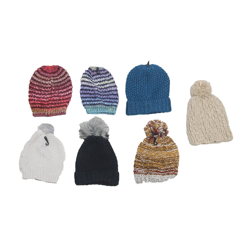 Assorted Color Knit Winter Hats