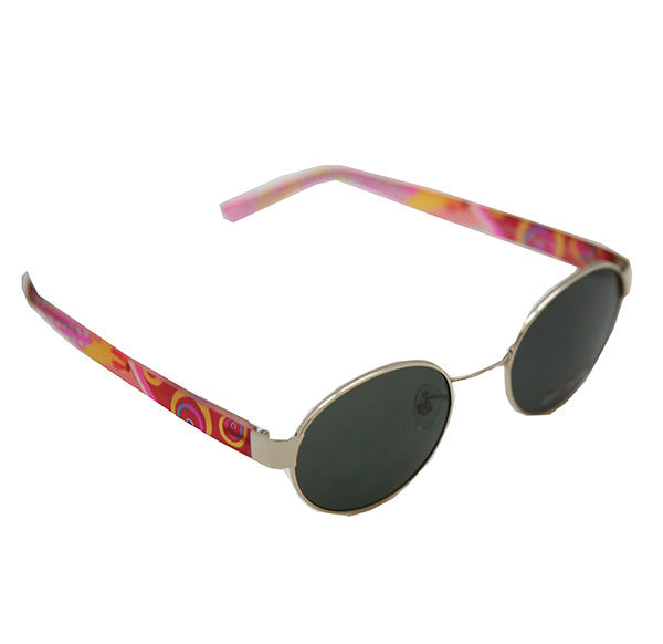 Girl's New Wave Sunglasses (Gold)