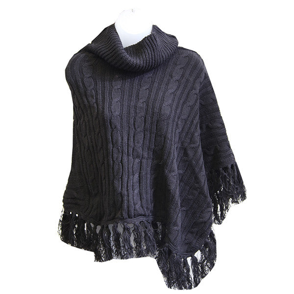 Ruana (Poncho Style Outer Garmet) - Cold Weather