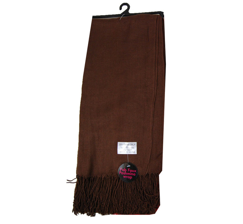 Women's Scarves (Brown) - case pack 102