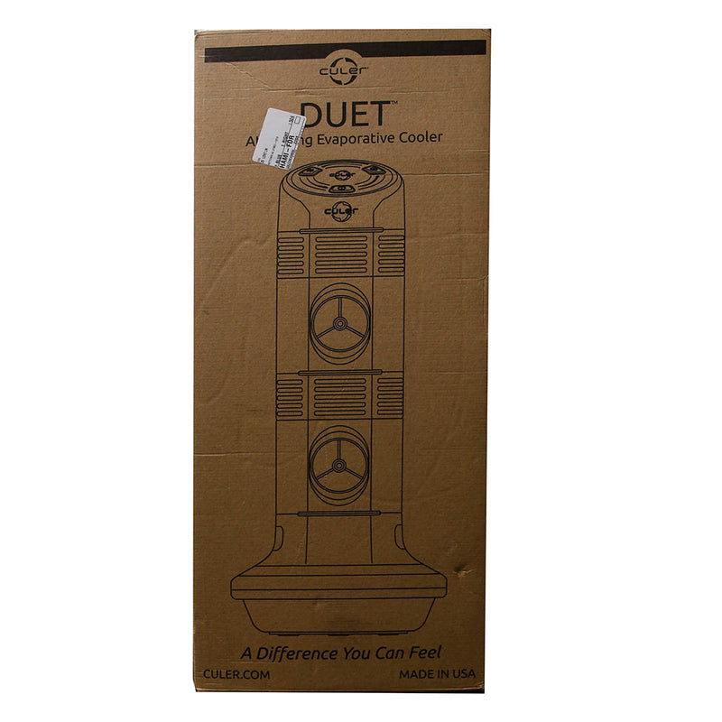 Culer Duet Double Port Flash Evaporative Air Cooler