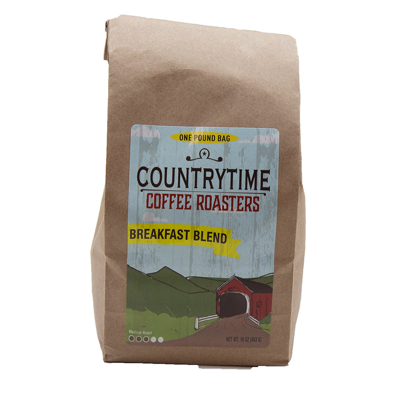 Countrytime Breakfast Blend Coffee 16 oz - Dated 04/25/2021