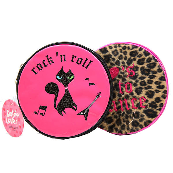 Girls Inventory Cheetah CD Case