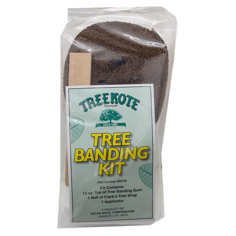 Treekote -Tree Banding Kit, Contains: 15oz. Tub Of Tree Bunding Gum,1 Roll Of Clark's Tree Wrap & 1 Applicator In A Poly Bag