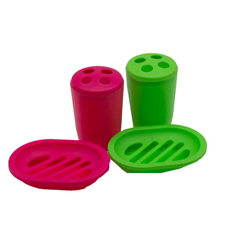 Just Because - PDQ - Bath Accessories Assorted Colors