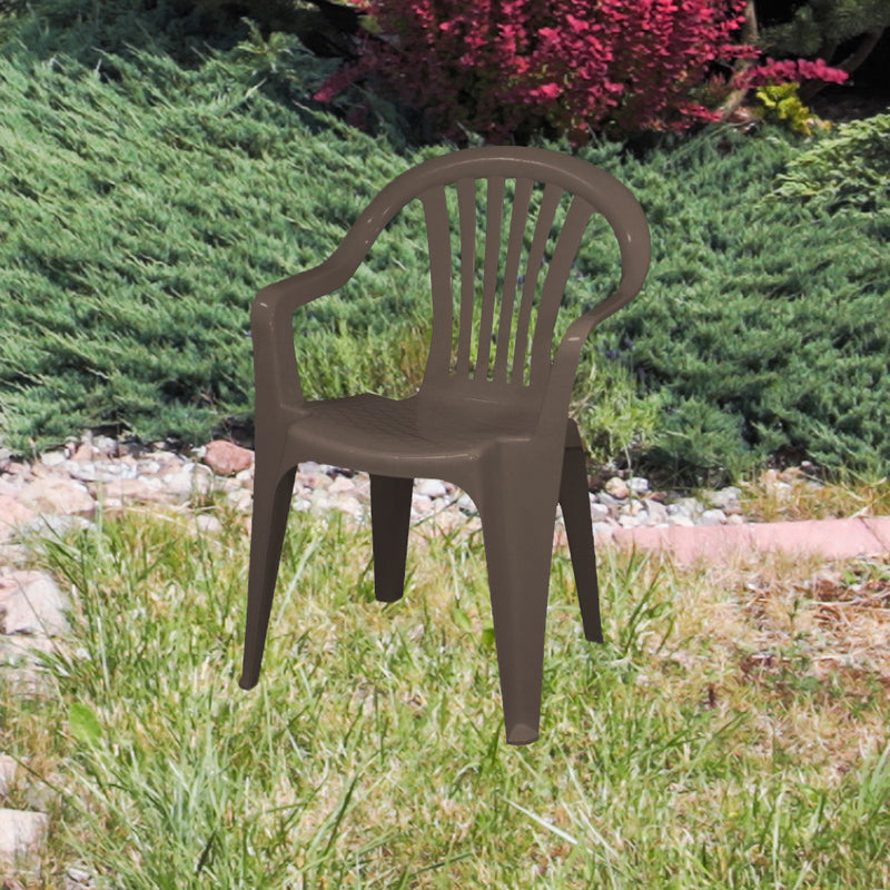 Brown Low Back Chair M# 8234-60-3704