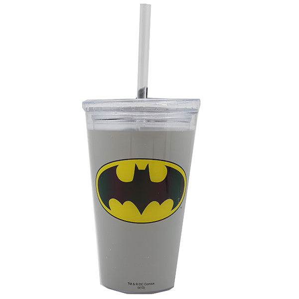 Tumbler Insulated - Assorted Logo Cups With Straw