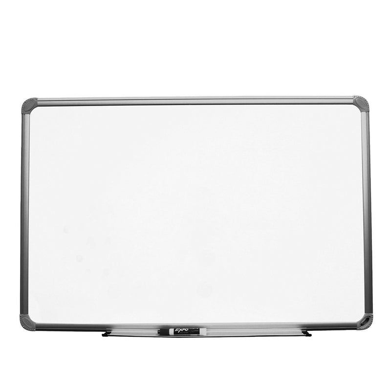 "Magnetic Dry Erase Board 48' x 36"" Steel Surface Aluminum Frame , Complete With Mounting Hardware"