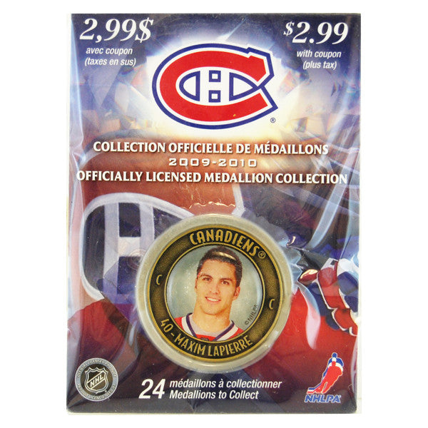 Maxim Lapierre Officiallyl Licensed  Medallion Collection