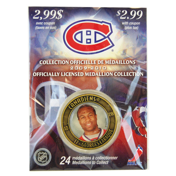 Georges Laraque Officiallyl Licensed  Medallion Collection