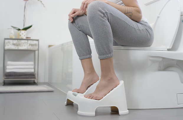 TURBO™ Toilet Footstool Bathroom Step Stool