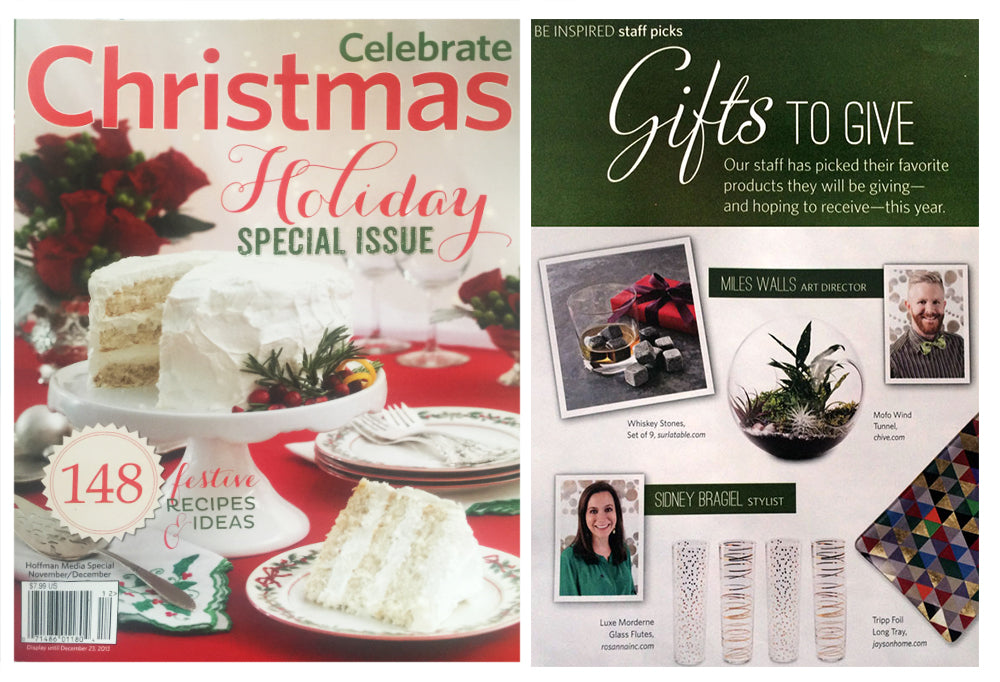 Celebrate Magazine | Gifts to Give