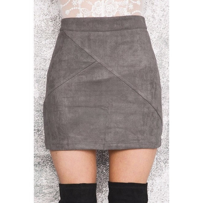 Misha Skirt, Grey - kittbae
