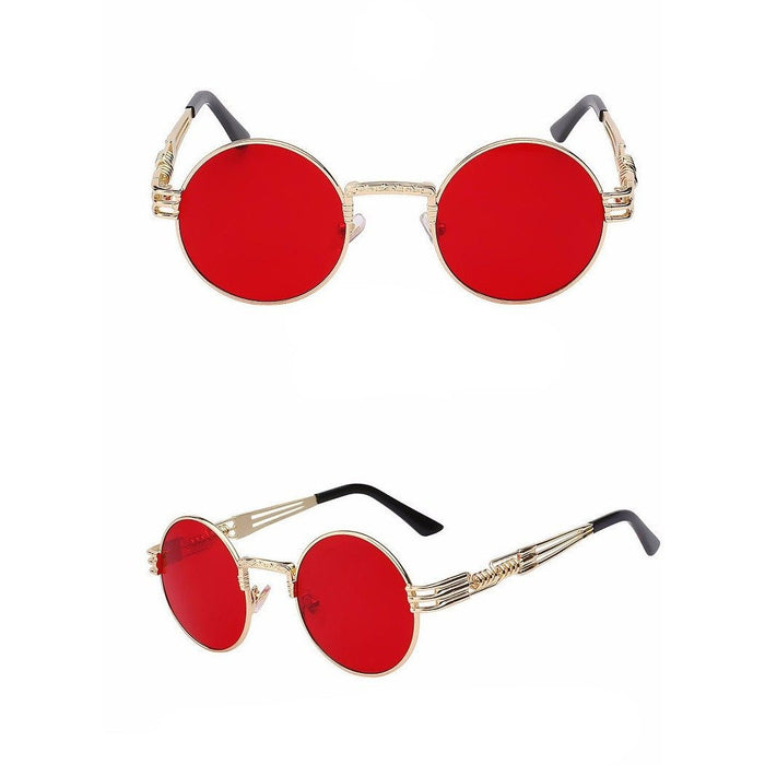 Gold/Red Superfunk Sunglasses - kittbae