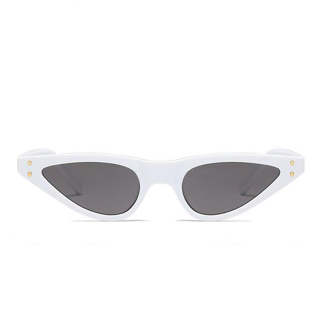 White Nova Sunglasses
