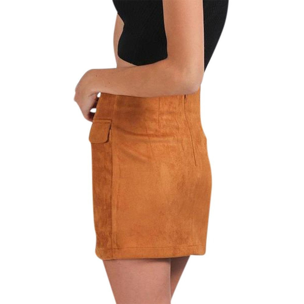 Kelly Skirt, Camel - kittbae