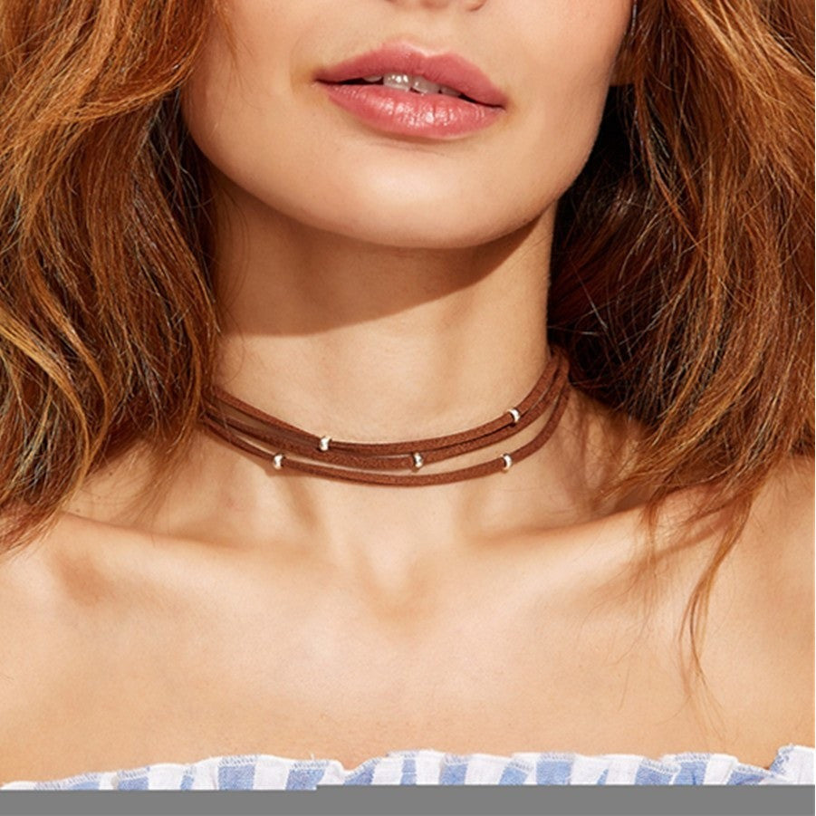 Layered Stud Choker - kittbae