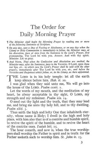 1928 Book of Common Prayer <BR> (Generic Title Page)