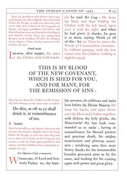 Anglican Altar Missal