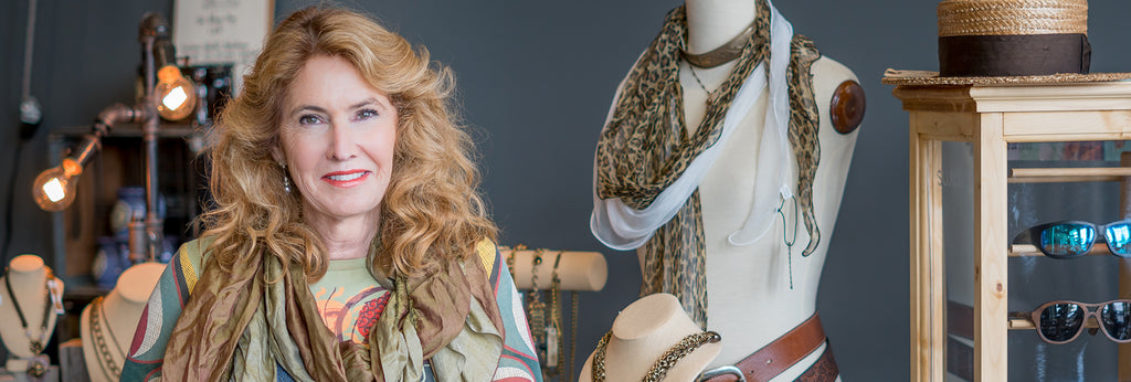 Picture of Liz Hawley Owner of Refuge Antiques