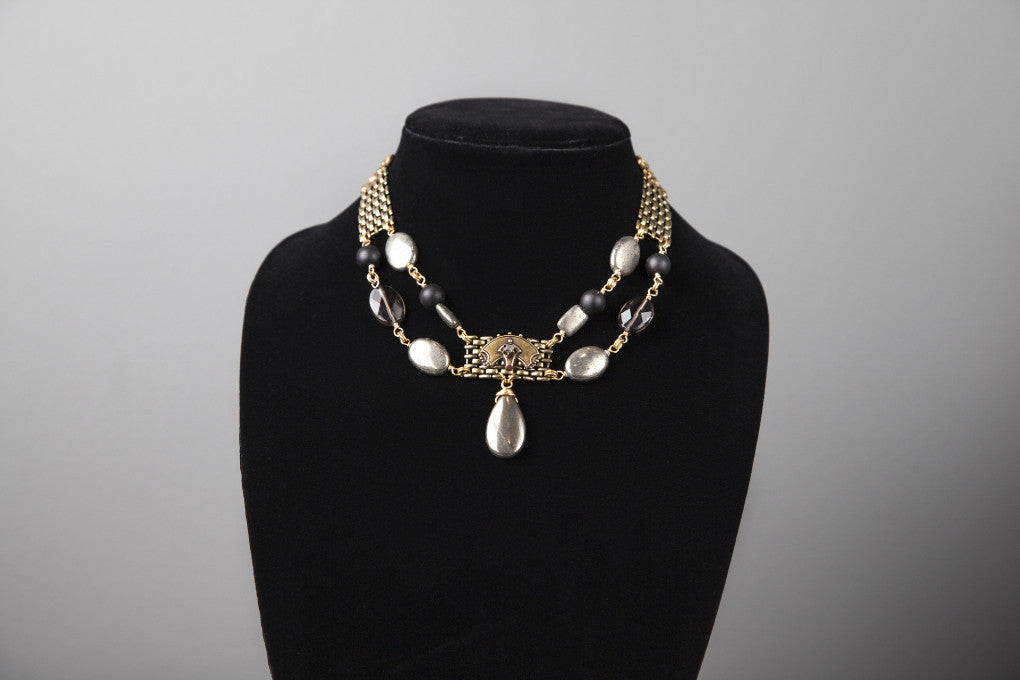 Pyrite Antiquary Necklace