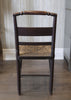 Antique Rush Seat Side Chair (back)