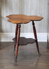 Antique Clover Leaf Tripod Side Table